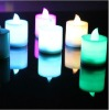 Magic Electronic Smokeless and Non-fire candle with 7 colours