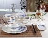 porcelain dinnerware set-ruihua shijin(blue flower)