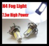 H4 9003 HB2 Car High Power Xenon White LED Bulb 7.5W Fog Driving Lights Bulb