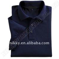 2011 trendy combed cotton men's pique golf polo shirts