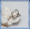 2012 fashion lastest pearl ring design