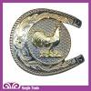 Fancy Belt Buckle with Cartoon Design