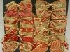 bowknot wired christmas ribbon