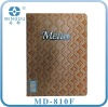 Faux Leather PU Menu Book For Restaurant