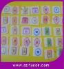 Nylon Velcro Dots Printed /Pretty Logo