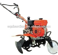 6.5HP 500 agriculture rotary gasoline power garden tractor cultivator tillers