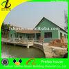 modern well design light steel structure villa