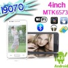 New MTK6513 Android phone I9070 4 Inch capacitive touch screen Dual cameras WIFI Russian