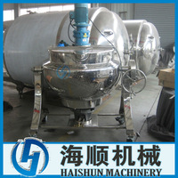 Tilting-Type Steam Heating Jacketed Kettle