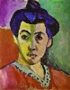 Reproduction of Madame Matisse oil painting
