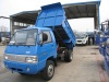 Foton light tipper truck