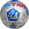 metallic leather footballs soccer balls