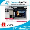 "Sharing Digital 17"" Flip Down TFT LCD Monitor with TV System"