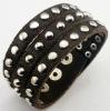 Htc Split Leather bracelet with studs