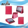 PU and fashion leather case for ipad3
