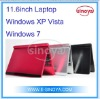 11.6''inch Windows XP VISTA Windows 7System Intel Atom D450 Support OEM LOGO Netbook Computer Desk top Computer Lap top