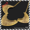 Bead Necklace Vintage Golden Chain Twist Pendant Jewelry Necklace AS1656