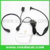 Throat microphone with acoustic tube for Jingtong two way radio JT-208 JT-308 JT-2118 KT-3118 E1176-TG
