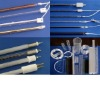 Infrared quartz glass tube heater /Fused quartz glass products / fused further processing quartz tube/rod/disc/plate