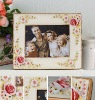 2012 Best selling Home and House Pansy photo picture frame best for friend or gift and craft