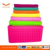 Fluorescence Color Jelly Silicone Coin&phone&key bag