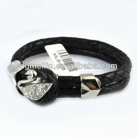 real leather bracelets with charms MLB-676