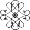 Decorative Wrought Iron Part for Railing or Fence