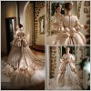 Luxurious Aulic Capacious Embroidered Wedding Gown