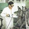 welding stress elimination device