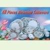 48 Pieces Melamine Tableware Products