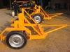 steel Wire drum trailer, cable drum trailer