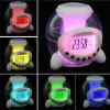 Natural sound driving/oversized ball alarm clock/LED clock/creative alarm clock