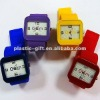 colorful siicone wristwatch with customer logo