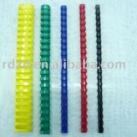 PVC comb binding