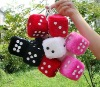 Stuffed Plush Toy Dice /soft toys dice/plush play game dice Plush dice plush cube dice