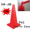 70 cm PVC traffic cones.safety rode cone