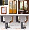 70 series wood aluminum composite inward open door and window