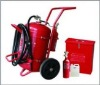 Wheeled Foam Fire Extinguisher