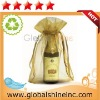organza wine bottle gift bag