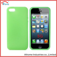 New Arrived Silicone Simple And Plain For Iphone5 cover
