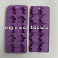 Silicone Ghost Shape Ice Cube Tray