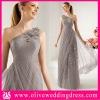 JH20092 One shoulder A-line Floor length Appliqued hand made flowers Tulle zuhair murad evening dresses