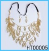 Simple and fashion alloy jewelry set