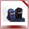 062five point star blue backpack