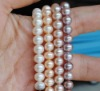 FREE SHIPPING AAA High Quality 5-6mm white Near Round Natural Freshwater Fashion Pearl Necklace Jewelry 43cm Long
