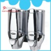 SH-7605 ABS Double Manual Liquid Soap Dispenser