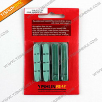 New arrival! 2013 Ceramic green Shimano brake pads(used for carbon rims only)