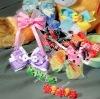 christmas ribbon hair clip&Hair Bands