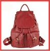 2012 New Korean Style Girl Lady Genuine Leather Backpack Bag Travel