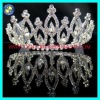 Wholesale pageant party tiaras.silver crystal party tiaras